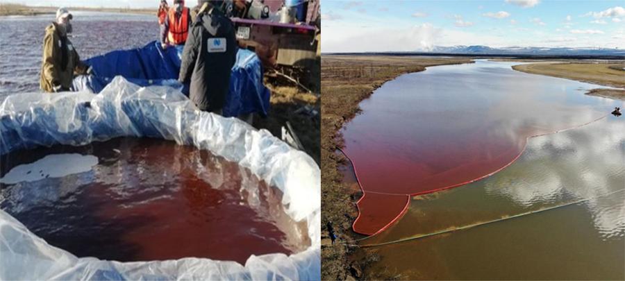 El Ártico sufrió la peor catástrofe ecológica por un enormederrame de diésel