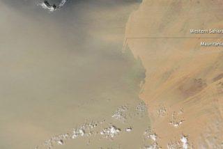 ¿Qué es el polvo del Sáhara? Una espesa nube marrón viaja de África a América