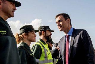 El sucio palo del Gobierno a policías y guardias civiles víctimas de Covid-19 que retrata a Sánchez y a Iglesias