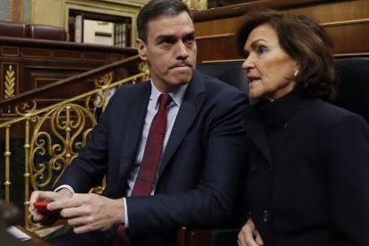 """Sánchez se 'hace la picha un lío' y confunde a Casado con él mismo en el Congreso: """"Gracias señor Sánchez"""""""