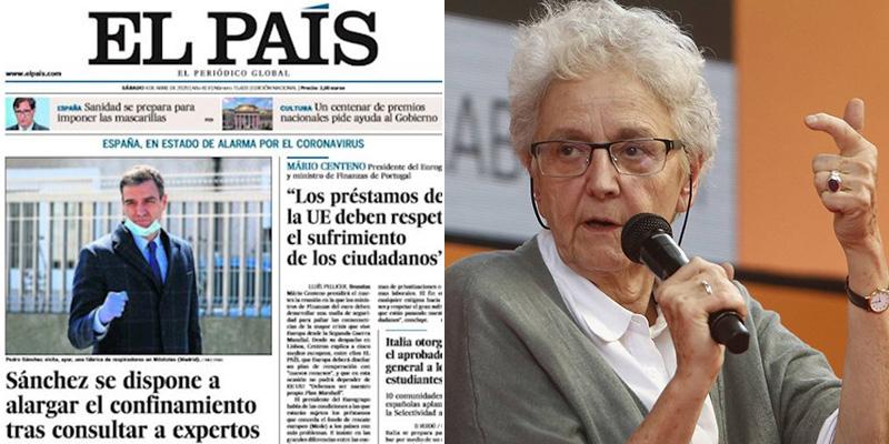 """Las 'perlas' de Gallego-Díaz tras sus dos años nefastos al frente de 'El País': """"La heterosexualidad es peligrosa..."""""""