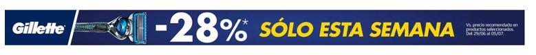 Semana de Gillette con hasta –28% descuento en Amazon