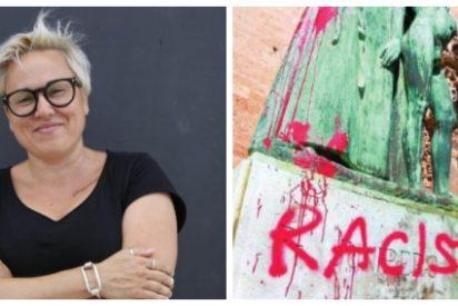"""La podemita Sonia Vivas llama a derribar más estatuas de """"genocidas españoles"""" tras el ataque a la de Fray Junípero Serra"""