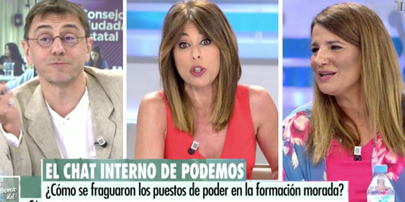 """Soberbio estacazo para silenciar las mentiras de Podemos en Mediaset: """"Monedero, ¡te callas!"""""""