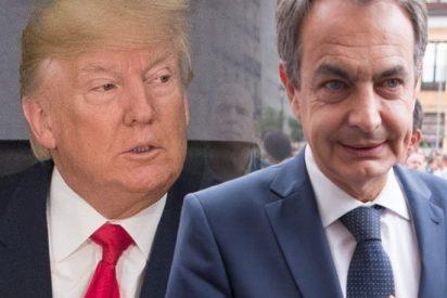 Trump declara la guerra al 'chavista' Zapatero después de que el expresidente socialista llamase a una 'conspiración internacional' contra EEUU