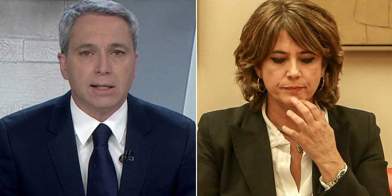"""Vicente Vallés retrata el 'chollo' de Sánchez con Dolores Delgado: """"Es destacable su ímpetu..."""""""