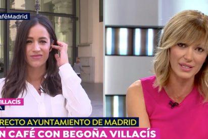 Begoña Villacís despeja en 15 segundos la polémica de su supuesto romance con Rubén Amón