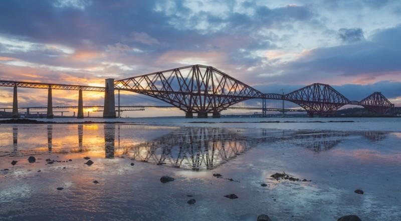 Escocia: Descubre elpuente de Forth ¡Impresionante!