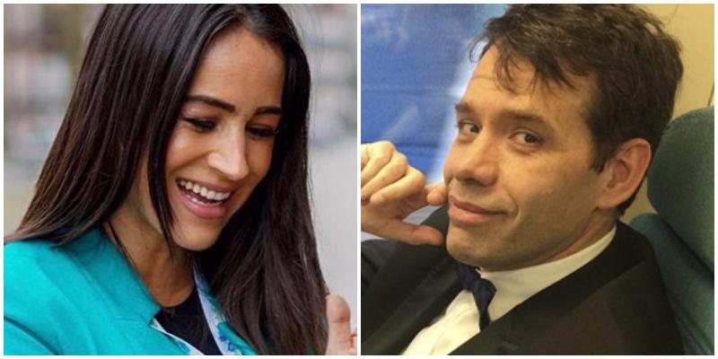 Begoña Villacís y el periodista Rubén Amón, pillados en plena calle comiéndose a besos
