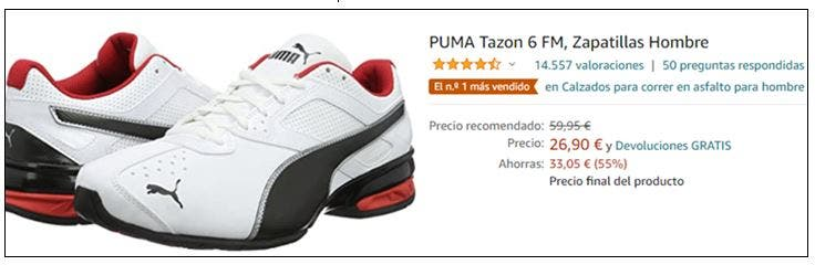 Zapatillas Puma con hasta - 55%