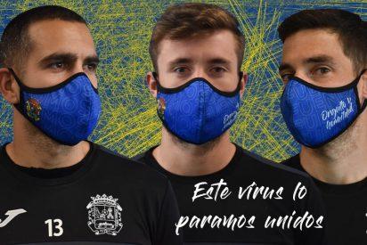 El 'autogol' por la escuadra del Fuenlabrada: estrena sus mascarillas y medio equipo acaba contagiado por el COVID-19
