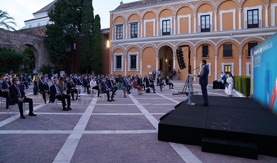 Moreno aboga por convertir la crisis por el Covid-19 en una oportunidad para fortalecer Andalucía