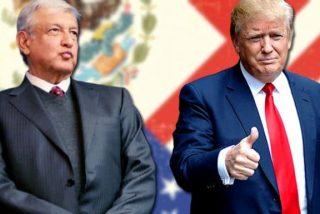 """Trump y López Obrador negocian en la Casa Blanca una solución """"a largo plazo"""" para la inmigración ilegal"""