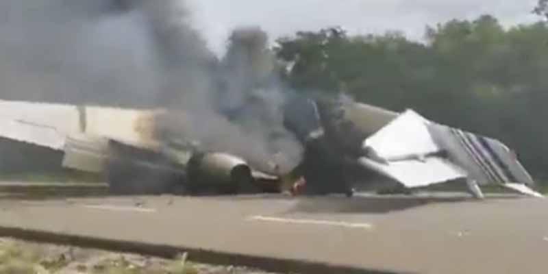 """""""Venía de Venezuela"""": Detectan una aeronave, la obligan a aterrizar y hallan casi media tonelada de cocaína"""