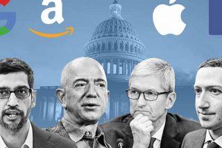 """""""Son un Gobierno privado"""": la comparecencia de los directivos de Facebook, Amazon, Apple y Google en el Congreso de EEUU"""