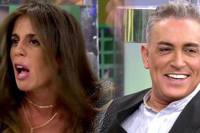 """Kiko Hernández acosa a Anabel Pantoja para que abandone Sálvame: """"¡Sucia! ¡Vete! ¡A ver si te fichan en Antena3!"""""""