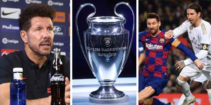 Sorteo Champions 2020: el Atlético sale mejor parado y el Madrid con Cristiano y el Barça en el camino