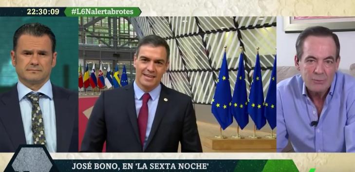 """López recurre al comodín de Bono para pelotear a Sánchez: """"El presidente se lo ha currado y merece ese aplauso"""""""