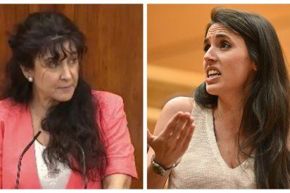 """Una diputada de VOX desmonta el discurso de Irene Montero en dos minutos: """"El lugar más peligroso para la mujer es el vientre materno"""""""