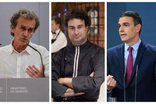 """Pepe Rodríguez (Masterchef), sin pelos en la lengua sobre el Gobierno y Fernando Simón: """"Hay alguien aquí que no nos cuenta las cosas"""""""