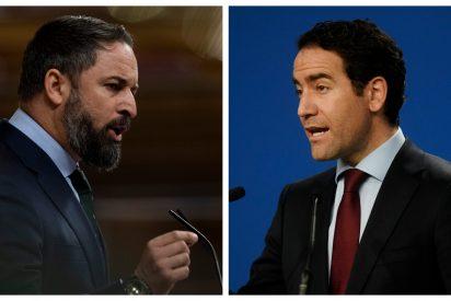 """García-Egea (PP) rechaza la moción de censura de Abascal y VOX responde con dureza: """"¿Es lo que te pidió Zapatero a escondidas?"""""""