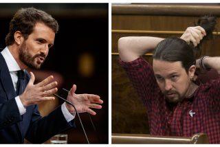 """Casado tira de la coleta a Iglesias: """"Tiene un caso de corrupción muy grave a sus espaldas"""""""