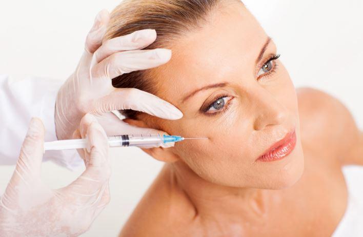 tratamiento de belleza con bótox