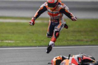 La brutal caída de Marc Márquez en el GP de España: fractura del húmero y peligra el mundial