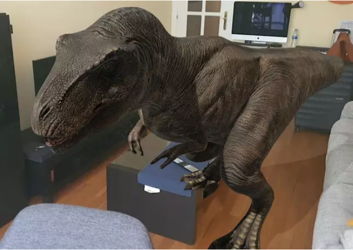 Google convierte tu hogar en 'Jurassic Park': cómo la realidad aumentada 'revive' a los dinosaurios