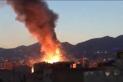 Teherán: una feroz explosión en una clínica causa, al menos, 19 muertos