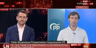 """El Quilombo / Un diputado del PP deja para el arrastre a Marc Sala: """"Algunos espectadores están indignados con TVE"""""""