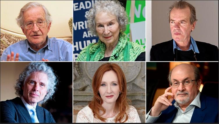 """Chomsky, Amis, Atwood, JK Rowling, Kasparov y otros 150 intelectuales denuncian el """"auge de la intolerancia en la izquierda"""""""