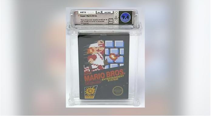 Un Super Mario Bros de 1985 se convierte en el videojuego más caro del mundo