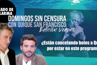 Cancelan bolos a Quique San Francisco en represalia por su participación en 'Estado de Alarma'