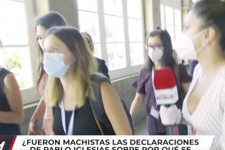 """Irene Montero huye cuando una periodista le pregunta si secuestrar la tarjeta de Dina fue machista: """"No, no lo creo"""""""