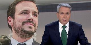 """Vicente Vallés le mete el dedo en el ojo a Alberto Garzón: """"Sus palabras podrían ser un mensaje a sus propios socios"""""""