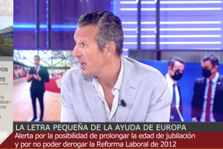 """Joaquín Prat frena en seco a Esther Palomera: """"Perdona, es que teníamos 40.000 muertos sobre la mesa"""""""