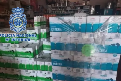 Intentan vender 1.000 bricks de leche que fueron donados a Cruz Roja y terminan en manos de la Policía