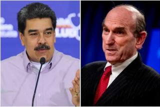 """El dictador Maduro responde a Elliot Abrams: """"Me llegó tu mensaje y estoy de acuerdo; vamos para adelante"""""""