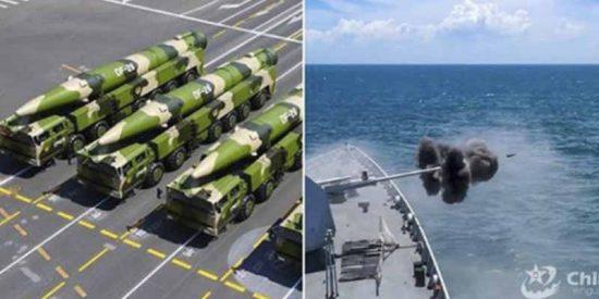 """China amenazó a EEUU con misiles """"mata portaaviones"""" y se llevó a cambio un zasca bélico que quedará para la historia"""