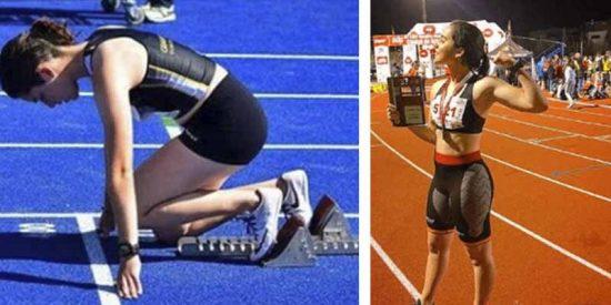 Quién era Claudia Hernández Rey, la atleta española que murió en un accidente de tráfico a sus 19 años