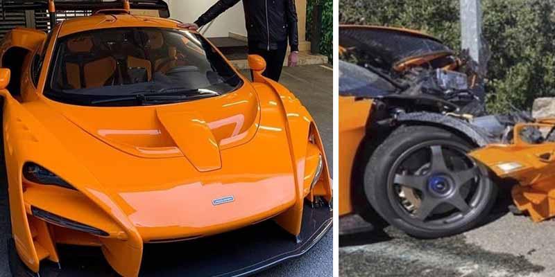 Este expiloto de F1 destroza su exclusivo coche deportivo de 800 caballos y valorado en un millón de euros