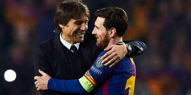 """Conte explica por qué es imposible que Messi llegue al Inter: """"Es más fácil mover el Duomo de Milán"""""""