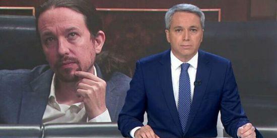 La razón de los insultos de Podemos a Vicente Vallés: una pregunta del periodista en su última entrevista a Iglesias