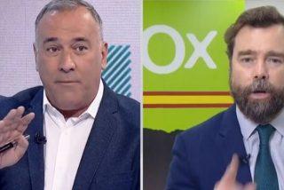 """Espinosa de los Monteros (VOX) zarandea a un tertuliano de Fortes (TVE): """"¡Necesita tratamiento psiquiátrico!"""""""