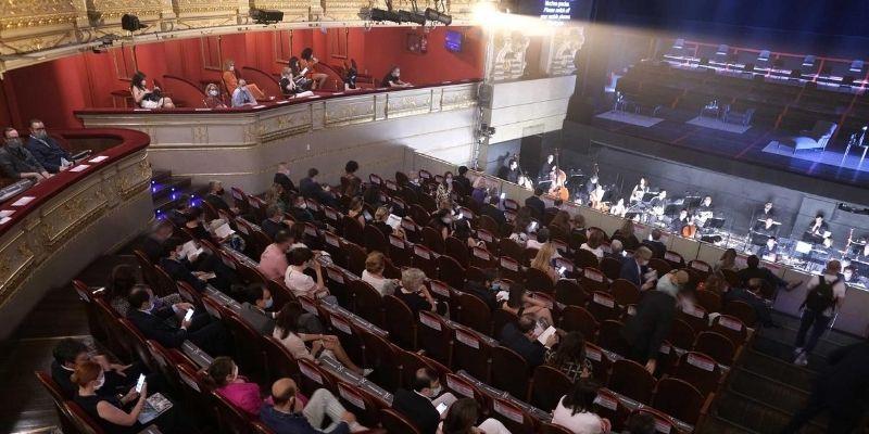 'La Traviata' del Teatro Real recibe la visita de 22.000 personas desde su reapertura