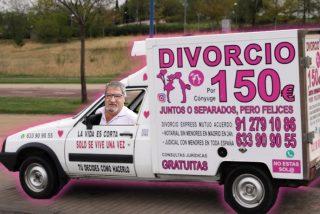'Divorcionetas': si no eres feliz, aquí tienes el método motorizado de separarte por solo 150 euros