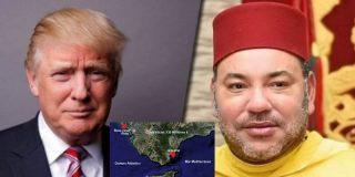 Mohamed VI ofrece a Donald Trump una base en Marruecos e insta a EEUU a cerrar la de Rota