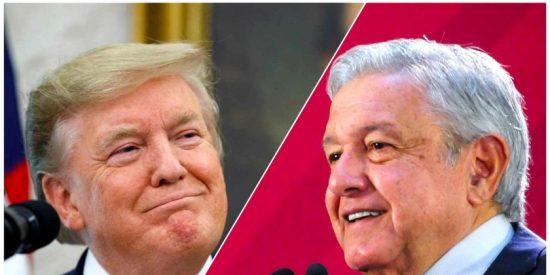 """Donald Trump sobre el presidente mexicano AMLO: """"Es un hombre fabuloso"""""""