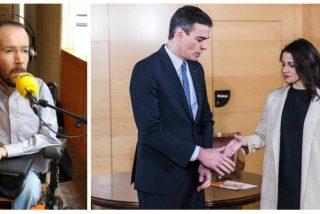 Echenique chantajea a Sánchez con echar abajo los Presupuestos si sigue cortejando a PP y C's